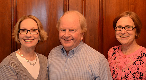 Deborah Sinay, Howard Stevenson, Shirley Spence