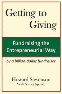 Getting to Giving Fundraising Book