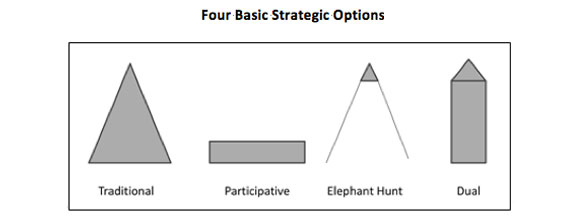 four-basic-strategic-options